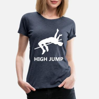 Jumping Spot High jump - Women's Premium T-Shirt