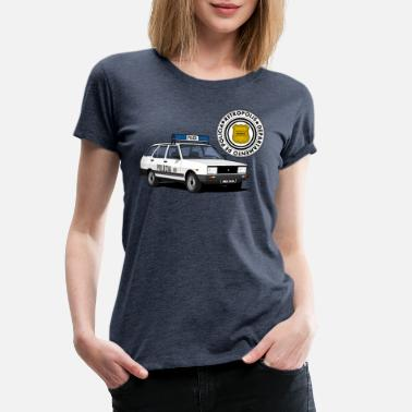 70s Car Patrol car - Women's Premium T-Shirt