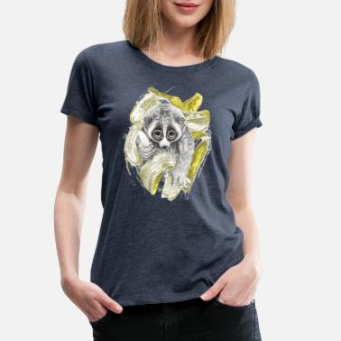 Animal Collection Lori en todo gas - Camiseta premium mujer