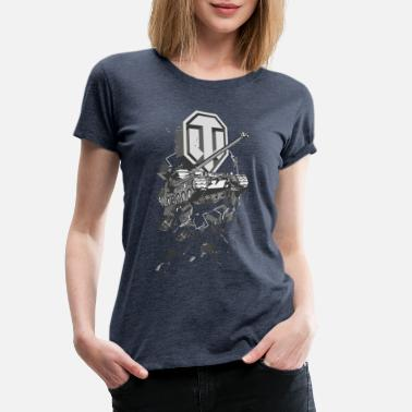 Officialbrands World Of Tanks Bat.-Châtillon 25 t - Camiseta premium mujer
