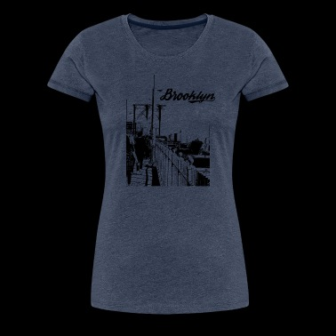 Brooklyn - Premium-T-shirt dam