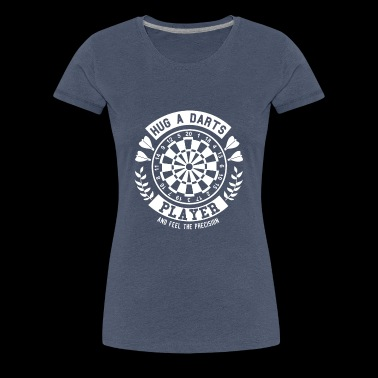 Darts Shirt · Darts · Darts · Hugs - Women's Premium T-Shirt