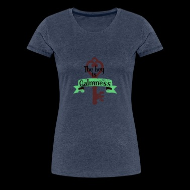 Peace and serenity as the key to success - Women's Premium T-Shirt