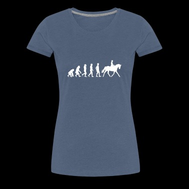Evolution Dressage Dressage Tournament Rider - Women's Premium T-Shirt