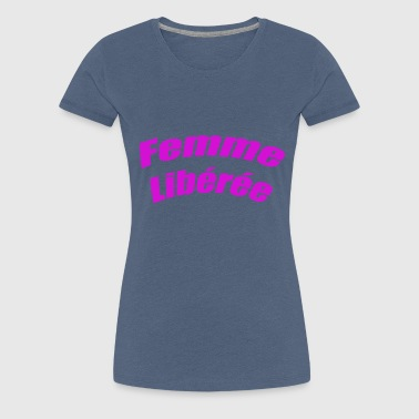 liberated woman - Women's Premium T-Shirt