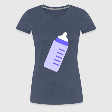 Vial Baby Bottle Clipart - Women's Premium T-Shirt