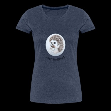 Little hedgehog - Women's Premium T-Shirt