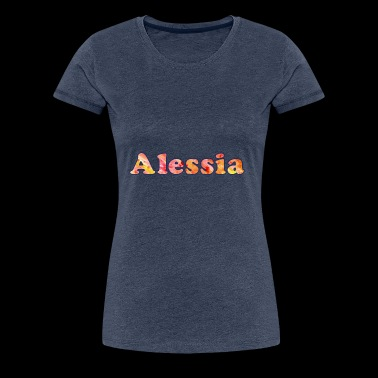 Name: Alessia - Women's Premium T-Shirt