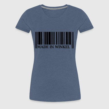 Made in Winkel - Frauen Premium T-Shirt