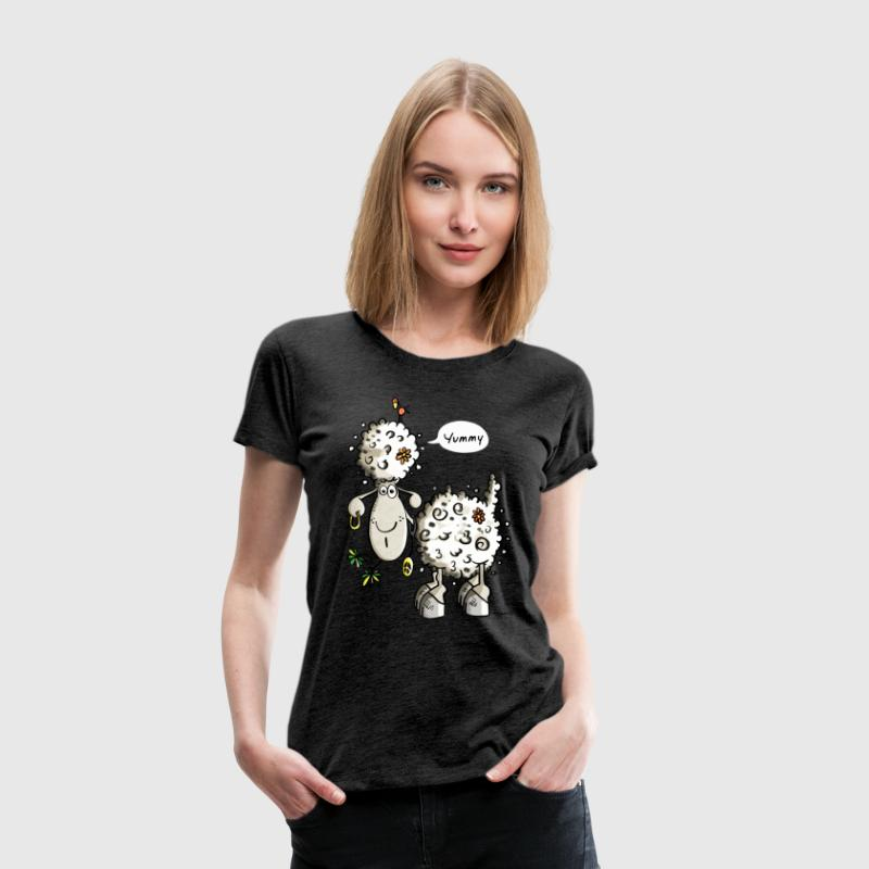 Yummy Hippie Schaf - Schafe - Hippies - Chillen - Frauen Premium T-Shirt