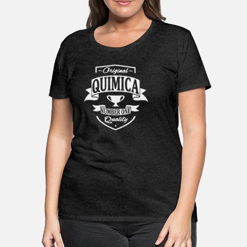 dd7a0b58e Química Camiseta premium mujer