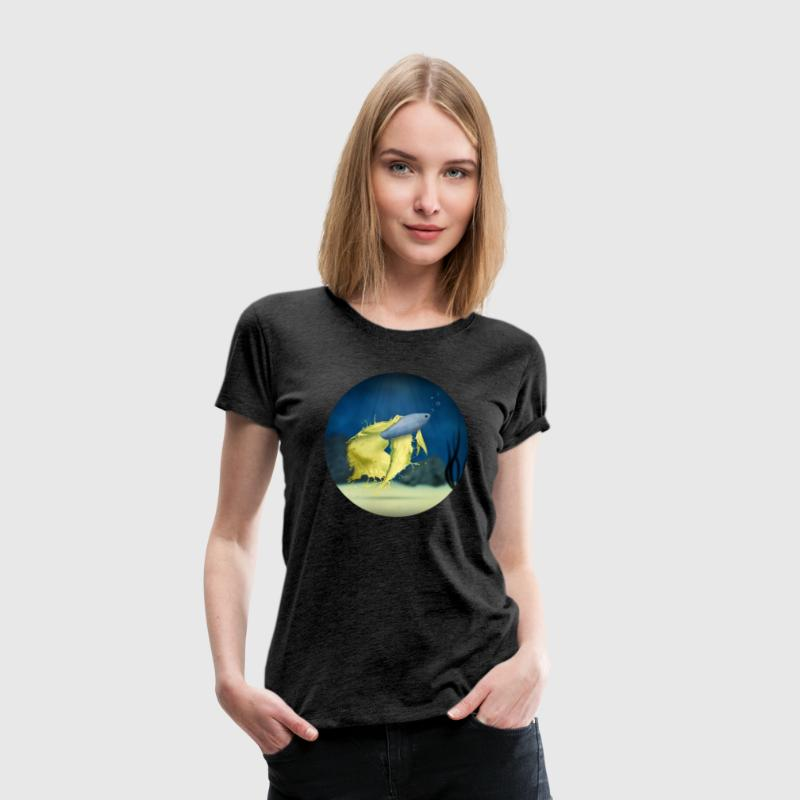 Betta Splash  - Frauen Premium T-Shirt