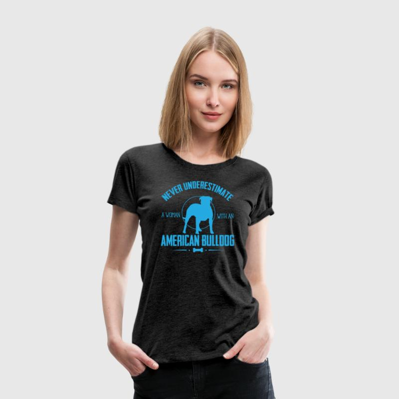 Dog Shirt- American Bulldog NUW - Women's Premium T-Shirt