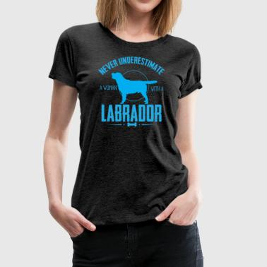 Dog Shirt-Labrador NUW - Women's Premium T-Shirt