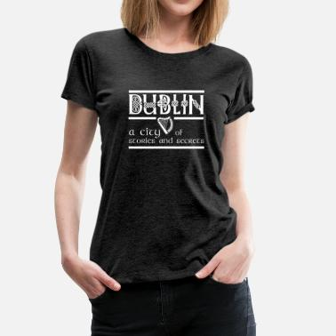 Green Island Dublin a City of Stories ... Ireland green island - Women's Premium T-Shirt