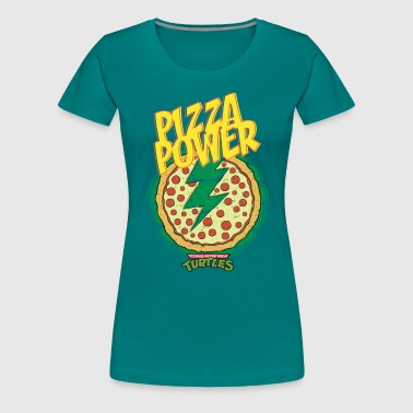 TMNT Turtles Pizza Power Shield - Women's Premium T-Shirt