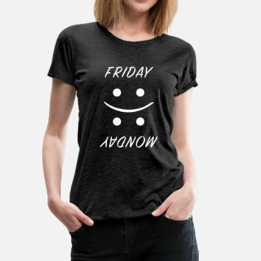 Friday Monday Friday vs. Monday - Frauen Premium T-Shirt