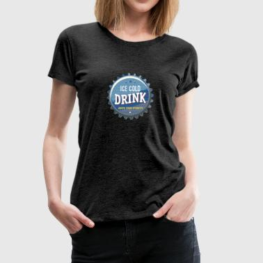 ice cold Drink Limo Bier Durst eiskalt Cola Party - Frauen Premium T-Shirt