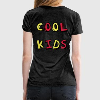 Cool Kids 3D painted - Women's Premium T-Shirt