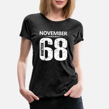 5a2cef617a60f Numéro du maillot de novembre 1968 - T-shirt premium Femme
