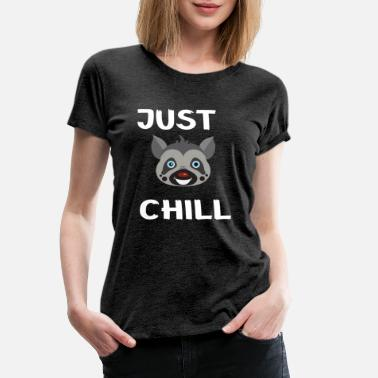 Primate Lemurs just want to chill out. - Women's Premium T-Shirt