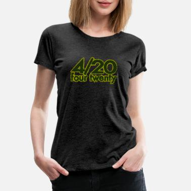 420 420 four twenty - Women's Premium T-Shirt