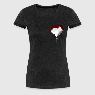 Liquid Heart - Frauen Premium T-Shirt