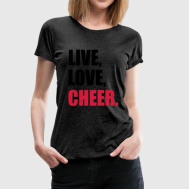 cheerleader - Women's Premium T-Shirt