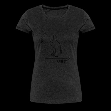 illusion d'optique - T-shirt Premium Femme