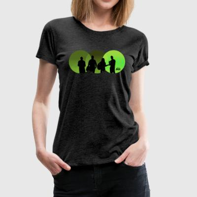 Motiv Cheerio Joe green - Frauen Premium T-Shirt