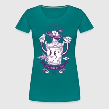 MR Rocket Stove (purple) - Women's Premium T-Shirt