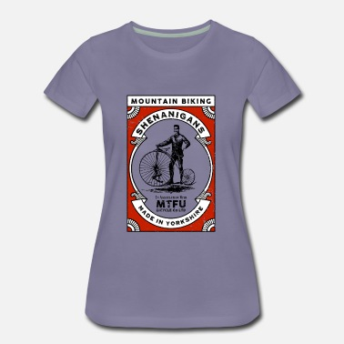 Mountain Bike Shenanigans - mountain biking - Women's Premium T-Shirt