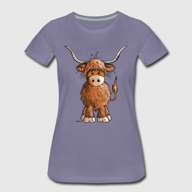 Scottish Highland Cattle - Women's Premium T-Shirt