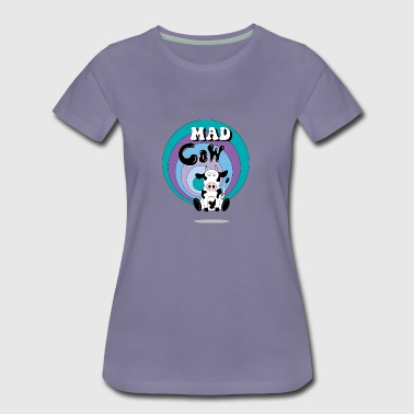 Mad Cow - Dame premium T-shirt