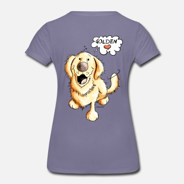 Retriever Golden Retriever - T-shirt Premium Femme
