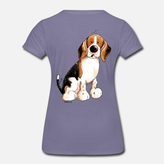 Beagle Camiseta Divertido Premium Divertido Premium MujerSpreadshirt Beagle Camiseta vN8wmOyn0P