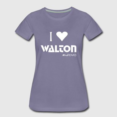 I love Walton #noFOMO | Talk Crypto To Me - Frauen Premium T-Shirt