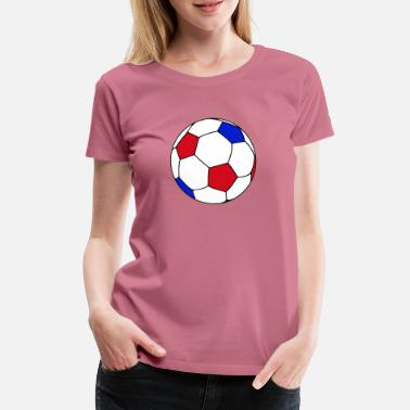 France Football - Vrouwen premium T-shirt