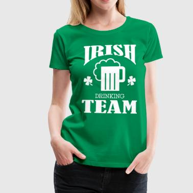 Irish Drinking Team - Dame premium T-shirt