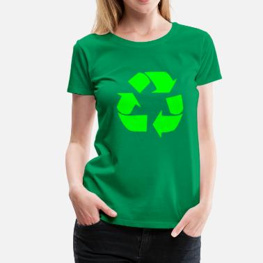 Worlds Recycling for the World - Vrouwen Premium T-shirt
