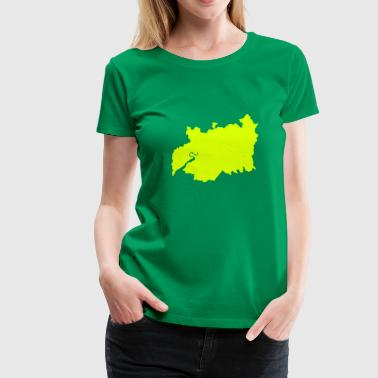 UK Gloucestershire County - Women's Premium T-Shirt