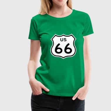 Route 66 - Women's Premium T-Shirt