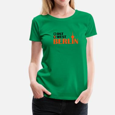 West Berlin West Berlin - Frauen Premium T-Shirt