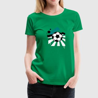 Football field - Women's Premium T-Shirt