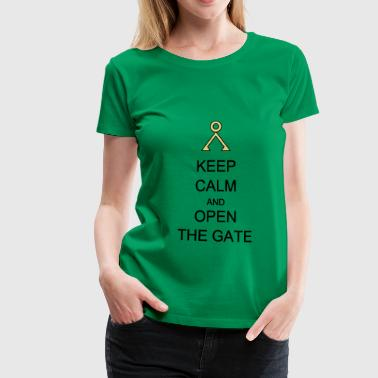 Open the Gate - Women's Premium T-Shirt