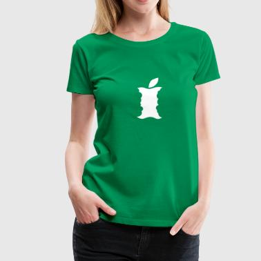 Klokhuis - Apple core - Vrouwen Premium T-shirt