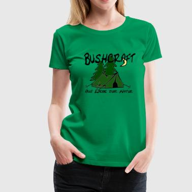 Bushcraft - Frauen Premium T-Shirt