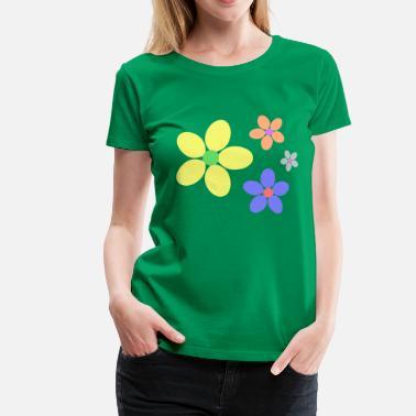 T Shirts Fleur Hippie A Commander En Ligne Spreadshirt