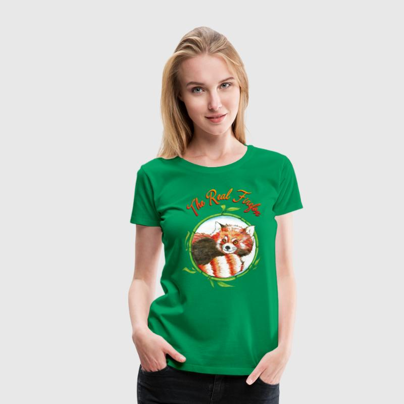 The Real Firefox - Frauen Premium T-Shirt