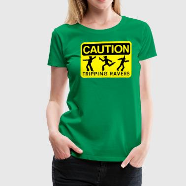 rzhw_caution-trip - Women's Premium T-Shirt